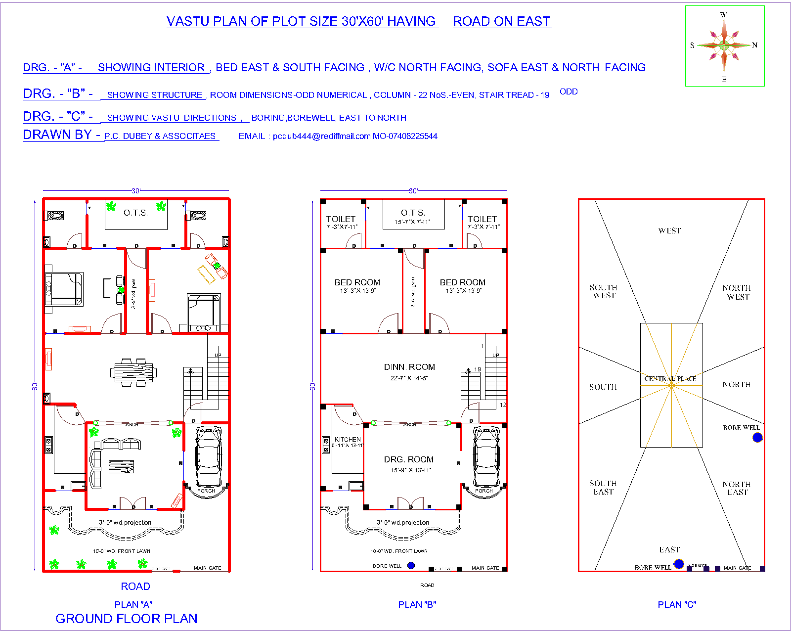 30 x 60 north facing house plans. Black Bedroom Furniture Sets. Home Design Ideas