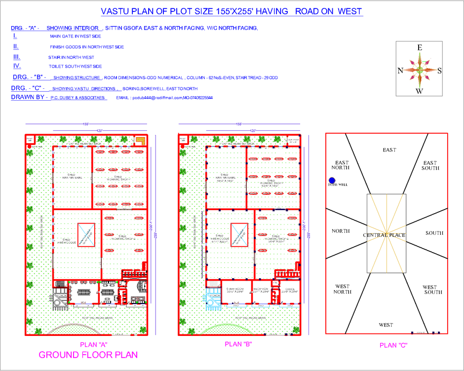 INTRODUCTION TO VASTU   INDIAN VASTU PLANSWEST FACING PLANS